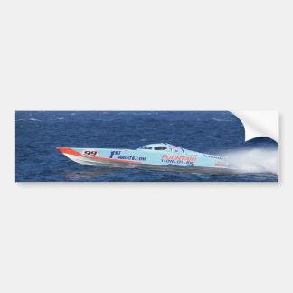 Offshore Powerboat Racer Bumper Sticker