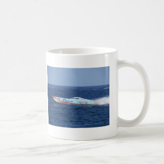 Offshore Powerboat Racer Classic White Coffee Mug