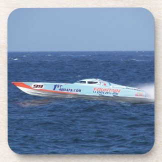 Offshore Powerboat Racer Drink Coaster