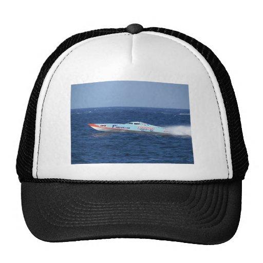 Offshore Powerboat Racer Mesh Hats