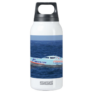 Offshore Powerboat Racer Insulated Water Bottle