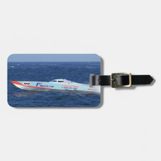 Offshore Powerboat Racer Tags For Luggage