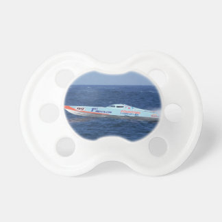 Offshore Powerboat Racer Baby Pacifier
