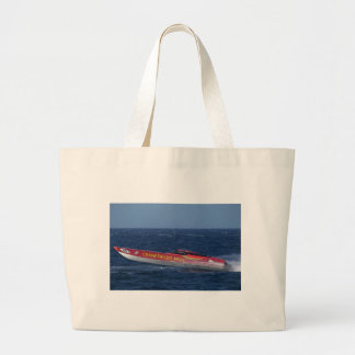 Offshore Powerboat Racing Canvas Bag