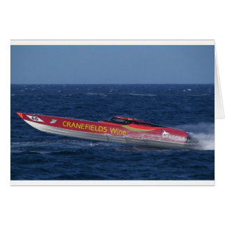 Offshore Powerboat Racing Cards