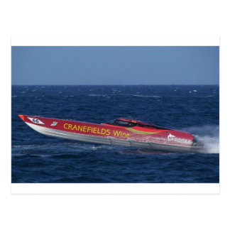 Offshore Powerboat Racing Postcard