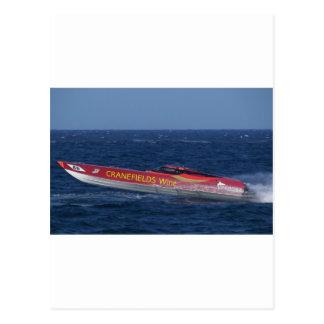Offshore Powerboat Racing Postcard