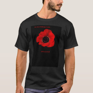 "OffTheClothBoff  ""POPPIES"" T-Shirt"