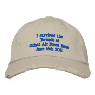 Offutt Air Force Base Embroidered Hat