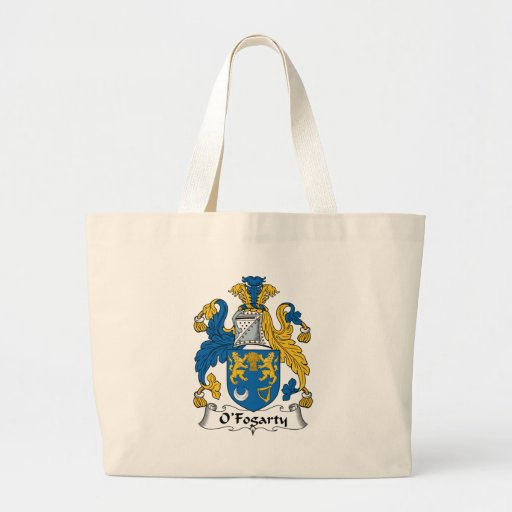 O'Fogarty Family Crest Tote Bags