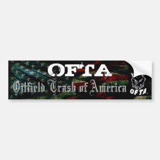 OFTA Bumper Sticker 2