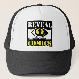 OG Black and White Reveal Comics Trucker Hat