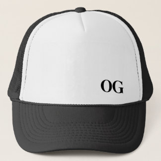 "OG ""Original Gangsta""  Truckers Cap"