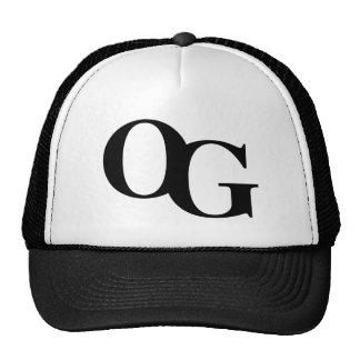 """OG """"Original Gangsta""""  Truckers Cap Trucker Hat"""
