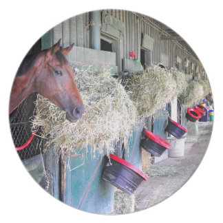 Ogden Phipps Stables with Scampering Plate