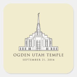Ogden Utah Temple. Primary sticker