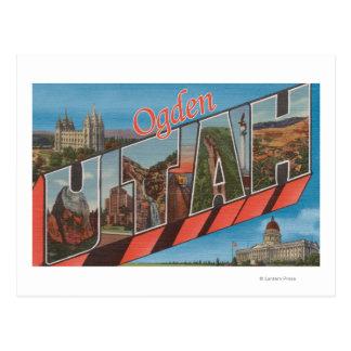 Ogden, UtahLarge Letter ScenesOgden, UT 2 Postcard
