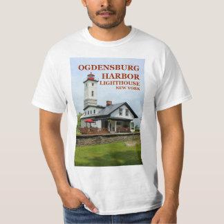 Ogdensburg Harbor Lighthouse, New York T-Shirt