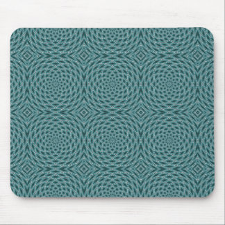 Ogee Ocean Spiral Rosettes Mouse Pad