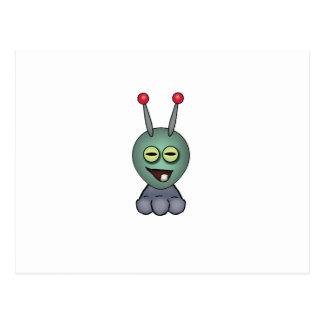 Ogglof Squashy Creature Postcard