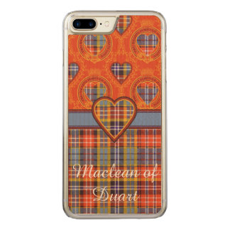 Ogilvie clan Plaid Scottish tartan Carved iPhone 8 Plus/7 Plus Case