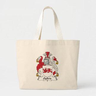 Ogilvie Family Crest Large Tote Bag