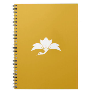 Ogre flower water caltrop crane notebook