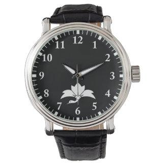 Ogre flower water caltrop crane wrist watch