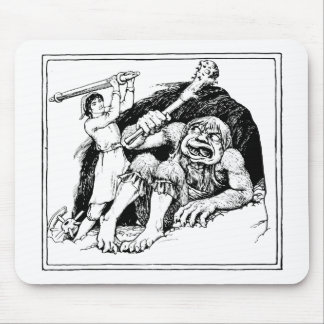 ogre mouse pad