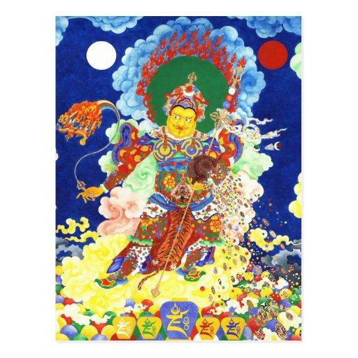 Ögyen Dzambhala [postcard]