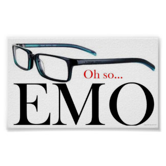 Oh ainsi Emo Poster