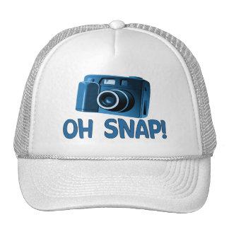 Oh appareil-photo instantané casquette trucker