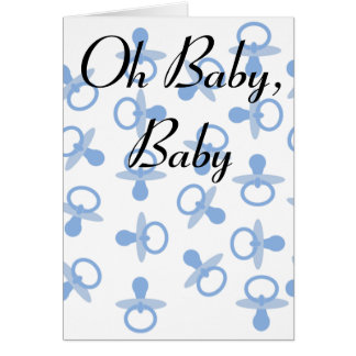 Oh Baby, Baby Card