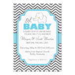 Oh Baby Elephant - Baby Shower Invite