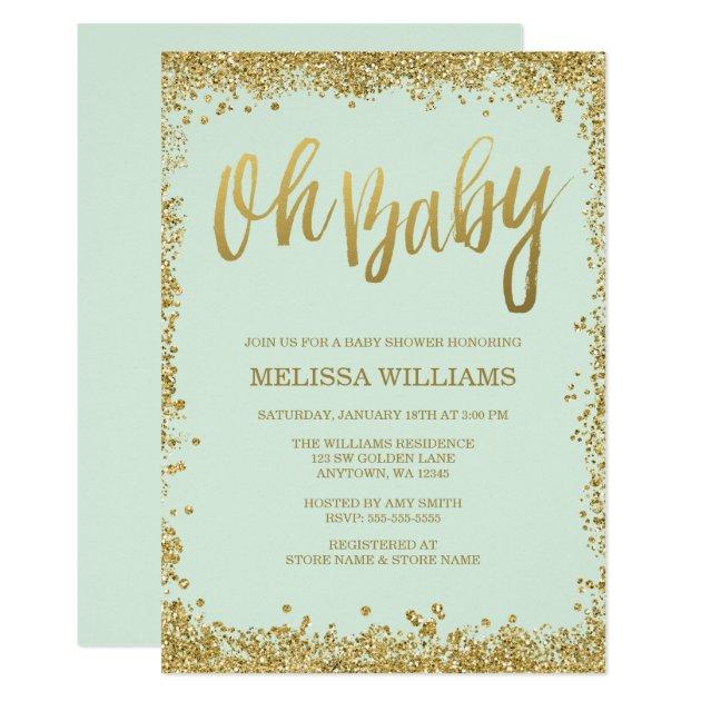 Gold Invitation Card is luxury invitation sample