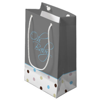 Oh Baby Posh Baby Gift for Boy Small Gift Bag