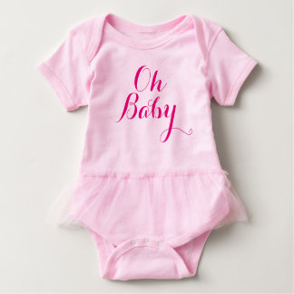 Oh Baby Tutu Baby Bodysuit