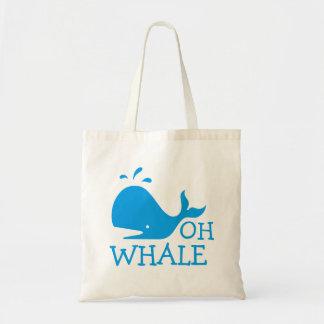 Oh baleine tote bag