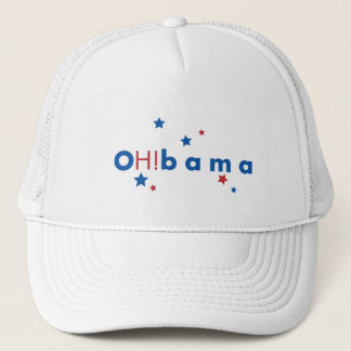 OH!bama - Blue & Red Stars Trucker Hat