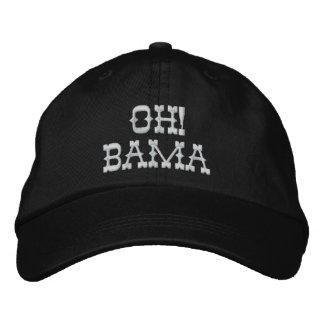 OH! BAMA EMBROIDERED HAT