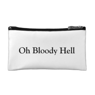 Oh bloody Hell Small Cosmetics Bag