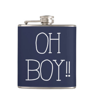 OH BOY!! HIP FLASK