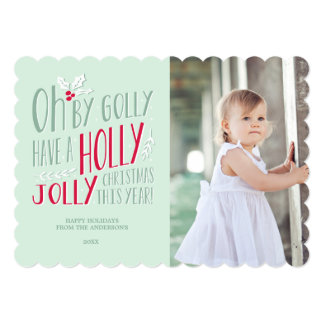 Oh By Golly | Holiday Photo Card