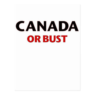 Oh Canada Postcard