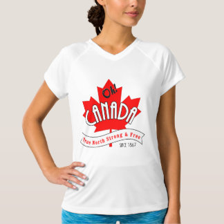 Oh Canada! True North Strong and Free T-Shirt