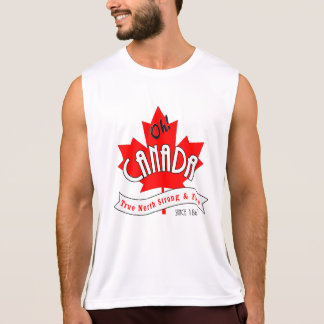 Oh Canada! True North Strong and Free Tank Top
