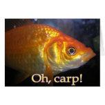 Oh, carp! Belated Birthday Cards