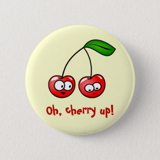 Oh, Cherry Up! Cherries Button