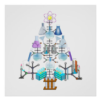 Oh chimie, oh arbre de chimiste poster