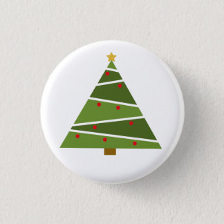 Oh Christmas Tree Round Button